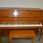 Young Chang Console Upright Piano