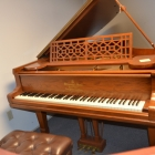 Steinway Model B Golden Oak Antique Restored